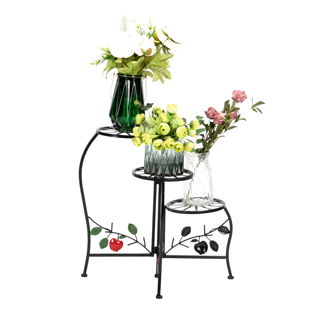 3 Layer Plant  Rack Stand Shelf Garden Tools Books Table Planter Display Stand Home Decor Indoor Outdoor Living Room Kitchen