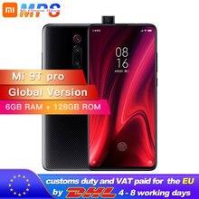 """Version mondiale Xiao mi 9 T Pro 128GB 6GB Snapdragon 855 mi 9 T Pro téléphone portable 4000mAh 48MP caméra arrière AMOLED 6.39 """"téléphone"""