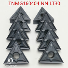 Tungsten Carbide TNMG160404 LT30  External Turning Tools insert Lathe cutter Tool TNMG160408 turning