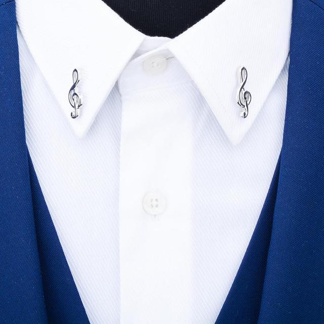 мужская брошь в форме нот savoyshi лацкана аксессуар для одежды фотография