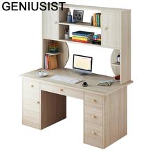 Łóżko stojące małe Mesa Notebook Escritorio biuro Meuble Lap Biurko Biurko komputerowe stolik nocny podstawka do laptopa z regałem tanie tanio GENIUSIST NONE HOME CHINA Laptop biurko
