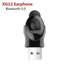 KEBIDU XG12 TWS Bluetooth 5.0 słuchawki Stereo Earbus z mikrofonem zestaw głośnomówiący USB Sport słuchawki bezprzewodowe dla iPhone Samsung