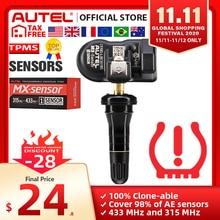 Autel maxitpms almofada programador pressão dos pneus de programação sensor tpms mx sensor 433 315mhz mx sensor autel tpms ferramenta para ts601