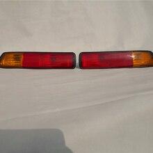 2PCS Reb Tail Bumper Lamp Rear Light For Mitsubishi Pajero Montero Shogun 3 III 2001-2002 MR508783 MR508784