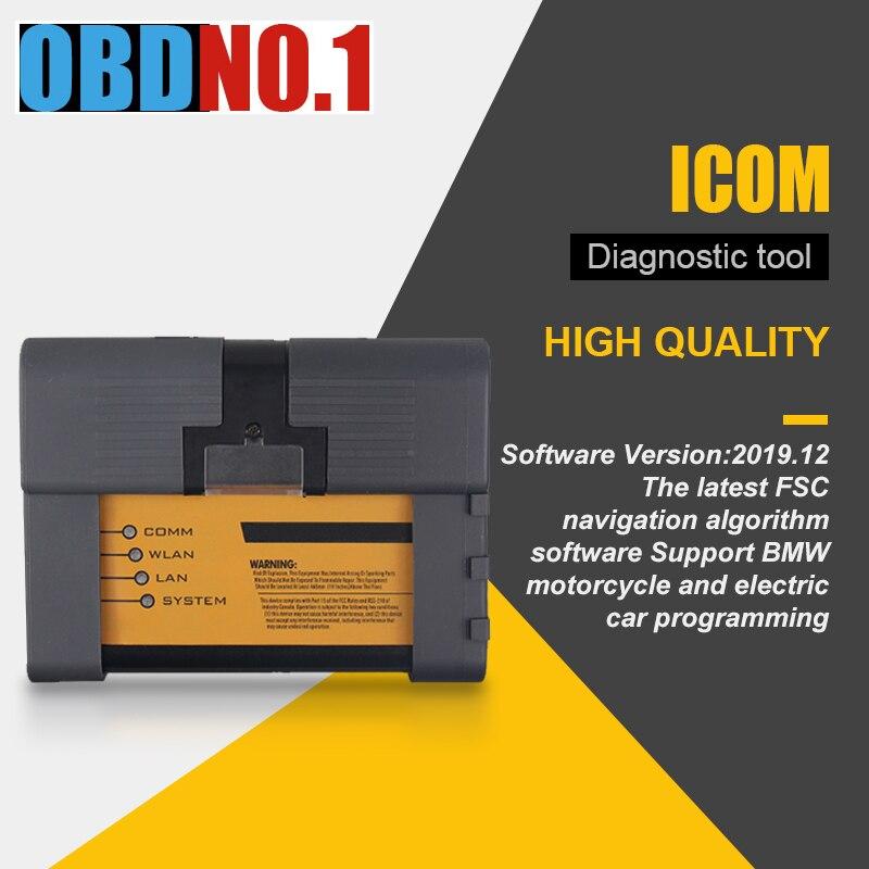 ICOM A2 ICOM NEXT FOR BMW ICOM A2+B+C DiagnosticNewest V2019.12Programming Tool For  Support Multi-Language