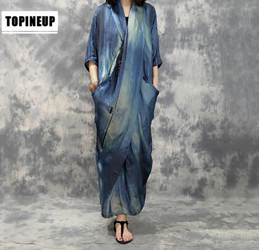 Marque célèbre nouveau 2019 dubai partie élégante robe en Satin de soie femmes Sexy à volants Wrap maxi robe Vestido