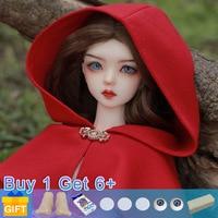 New Arrival Shuga Fairy Zazie Doll BJD 1/4 кукла bjd Naked Body Fashion Dolls For birthday Gift