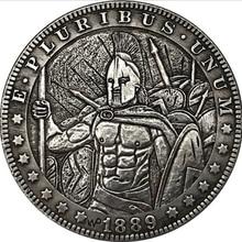 American Morgan Hobo coin Spartan coin Empire Warrior coin gift souvenir
