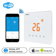 Touch Screen LED Temperature Regulator Central Air Conditioner WIFI Thermostat APP Control Temperature AE-XB-K(China)