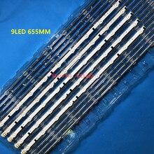 655 bande LED bande pour Sam Sung Sh arp fhd 32 tv D2GE 320SC1 R0 CY HF320BGSV1H, UE32F5000AK UE32f5500AW UE32F5700AW, HF320BGS V1