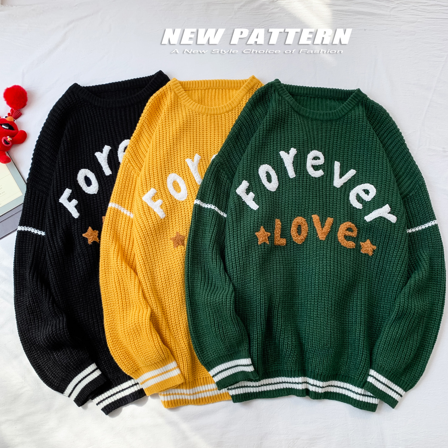 New Mens Sweaters Men 2019 New Fahsion O Neck Winter Pullover  Sweater Long Sleeve Casual Men Jumper Sweater Fashion
