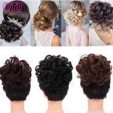 WTB синтетическая волнистая расческа На заколках, шиньон, эластичная лента, шиньон для наращивания волос для женщин, аксессуары для волос