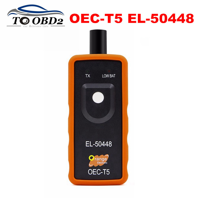 For GM Opel Auto TPMS Reset Tool OEC-T5 EL50448 EL 50448 Automotive Tire Pressure Monitor Sensor Tool For GM Series Vehicle