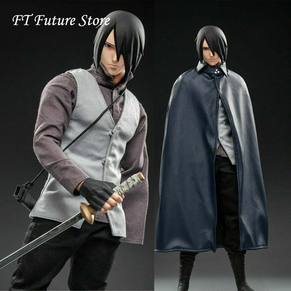 In Stock Collectible 1/6 WTOYS NARUTO Uchiha Sasuke Action Figure SFS022 12'' Action Figure Model Set Toy Collection For Fans