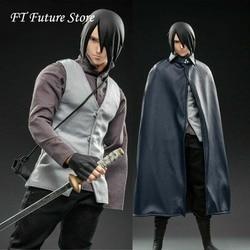 In Voorraad Collectible 1/6 WTOYS NARUTO Uchiha Sasuke Action Figure SFS022 12 ''Action Figure Model Set Speelgoed Collectie voor fans