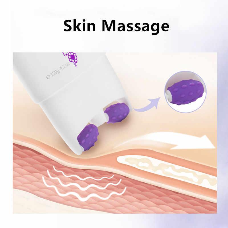 ILISYA Double rouleau V crème hydratante pour le cou Anti-rides blanchissant hydratant raffermissant Anti-âge masque pour le cou soins du cou soins de la peau