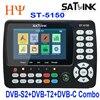 Satlink ST-5150 DVB-S2 DVB-T T2 DVB-C Combo Better Satlink 6980 Digital Satellite Meter Finder h 265 satlink ws-6933 kpt-716ts review