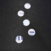 11mm 5 pieces Round Aluminum Replaced Car Key Shell Sticker Remote Fob Cover Emblem Symbol Logo For Alfa Romeo SAAB
