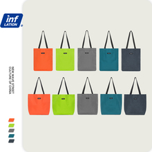 Handbags Canvas Fashion IN Casual Men INFLATION Couple Hip-Hop Street-Style Candy-Color