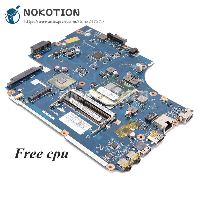 NOKOTION MBWJU02001 MB.WJU02.001 For Acer Aspire 5741 5741zg 5742 5742G Laptop Motherboard NEW70 LA-5892P HM55 DDR3 Free CPU