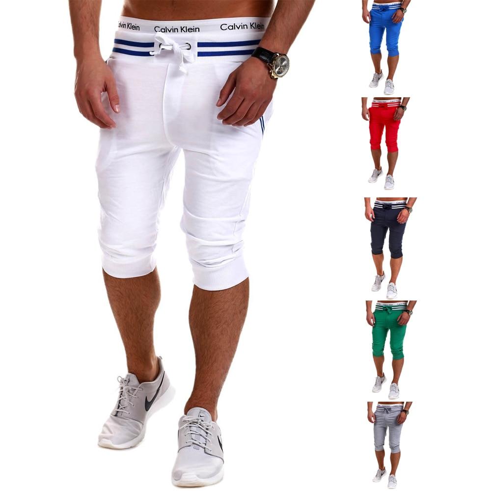 SWAGWHAT Summer Casual Shorts Men Striped Sportswear Short Sweatpants Joggers Breathable Board Shorts Man  Hip Hop Shorts