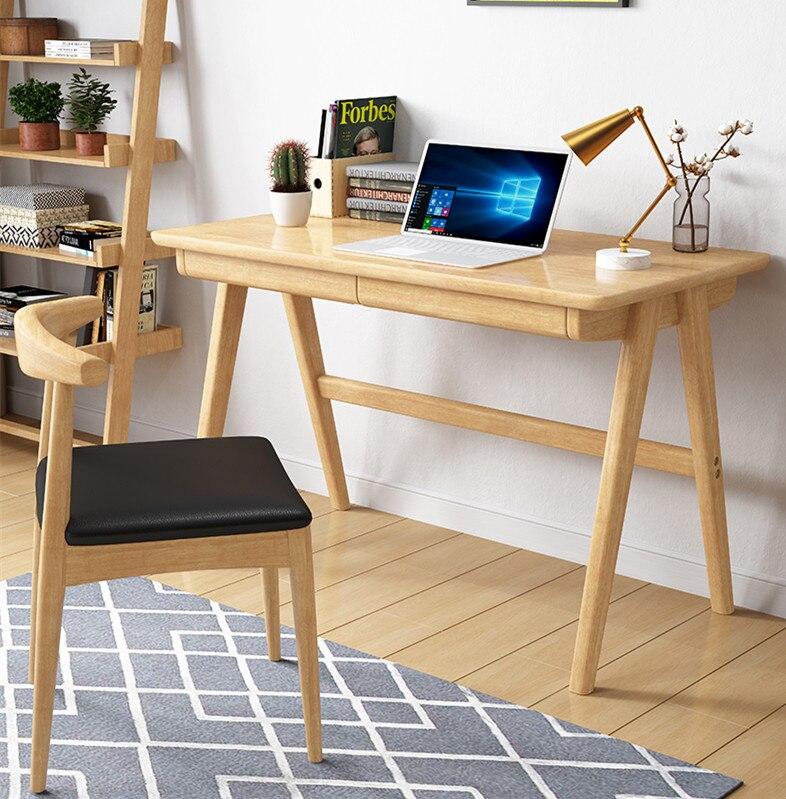 Walnut Oak Wood Desk Writing Table
