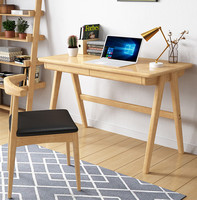 Walnut oak wood desk writing table simple desk computer table office table office furniture drafting table bedroom tables