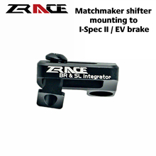 ZRACE XTR / XT / SLX / DEORE Brake integrated SRAM Shifter Adapter, SRAM Matchmaker shifter mounting to Shimano I-Spec EV brake
