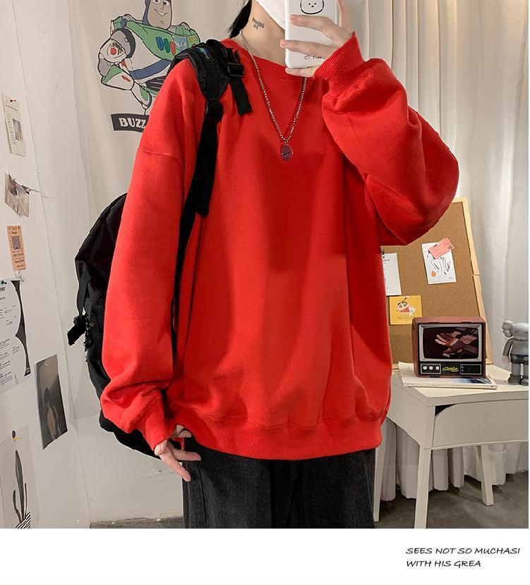 H1485a48659e94ca69458482c5900936f3 loose Korean style plus size sweatshirt winter clothes streetwear women 2020 new fashion plus velvet oversize harajuku hoodie