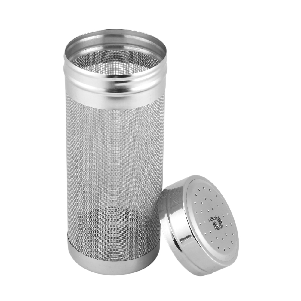 7X18cm 300 Micron Mesh Beer Stainless Steel Filter Dry Hop Spider Hopper For Cornelius Kegs Corny Keg Home Brew