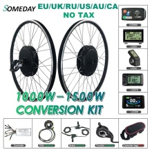Ebike Hub-Motor Conversion-Kit 700c-Wheel BLDC 1000W/1500W Rear SOMEDAY for Wheel-20-29inch