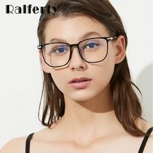 Ralferty-Montura De gafas TR90 ultraligeras, gafas graduadas ópticas, montura De gafas De Grau femeninas, W8874