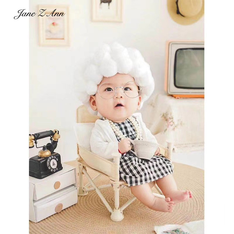Jane Z Ann Children Photography Costume Props Little Old Lady grandma Grandpa Theme Photo Studio shooting creative theme 1