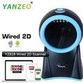 Yanzeo YS828 настольная платформа всенаправленный 20 линий высокоскоростной 1D лазерный сканер штрих-кода
