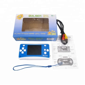 Image 4 - Портативные игровые системы Wolsen 2,5 дюйма со встроенными играми, 152 игры для детей, 8 битная видеоигра