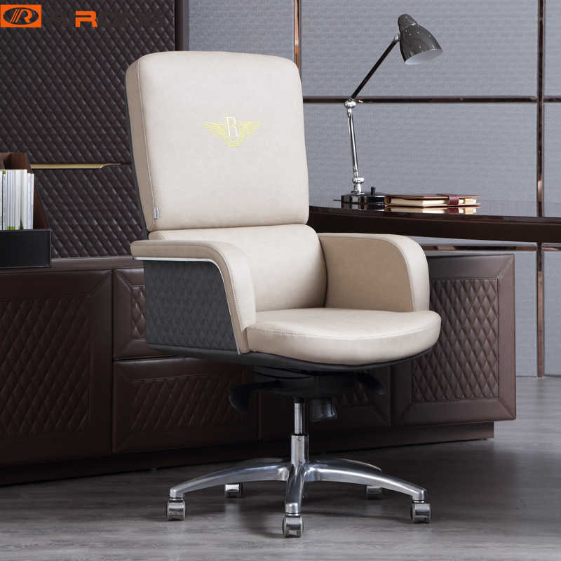 Italy Luxury Home Office Furniture Chairs Leather Computer Armchair Swivel Boss Chair Gaming Chair Aliexpress