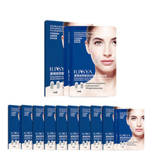 10 Boxes- Micro-needle Nasolabial Folds Patch Hyaluronic Acid Frown Lines Removal Moisturizing Face Care  Anti-Aging