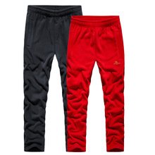 Hiking Trousers Pants Fleece Climbing Fishing Warm Thick Winter Straight Outdoor Camping