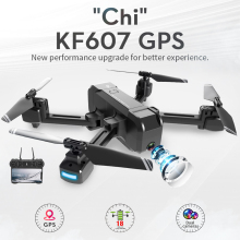 KF607 GPS Drone with Wifi FPV 1080P 4K HD Dual Wide Angle Camera Optical Flow RC