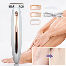Portable Painless Electric Lady Shaver Body Flawless Body For Women Full Body Shaver Razor Trimmer Rechargeable Shaving Machine