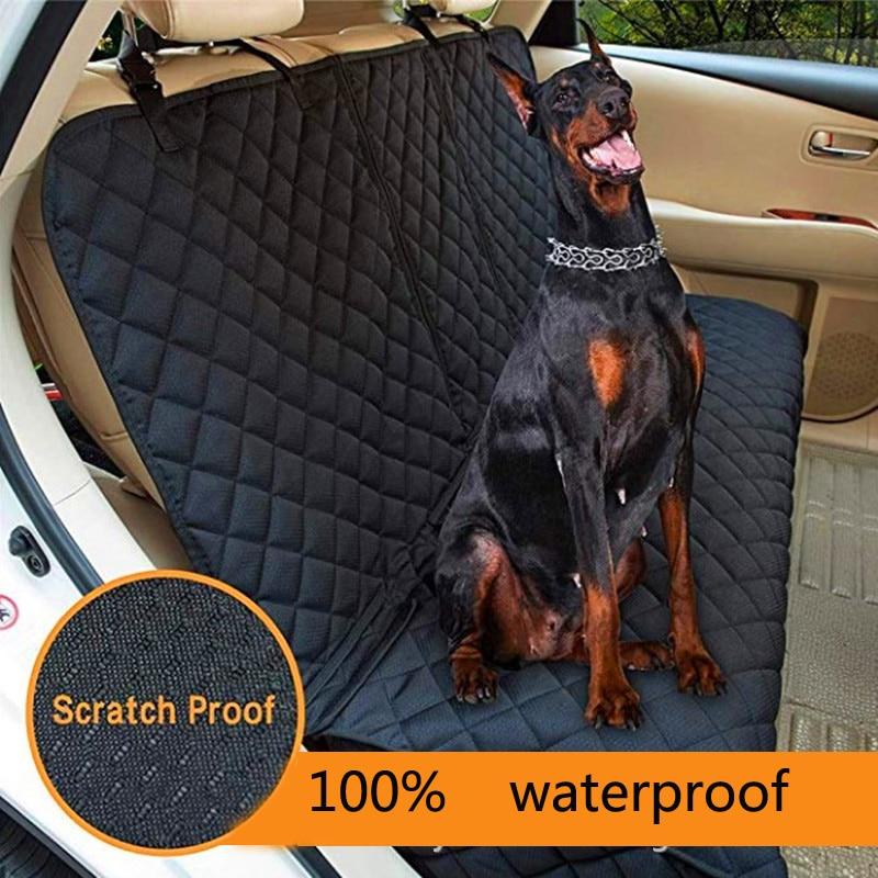 Tampa de Assento Do Carro do cão de Volta Tapete Do Carro de Estimação Cão Transportadora Carros Traseiro Protetor Almofada do Assento Mat Mat Non-slip Dobrável À Prova D' Água