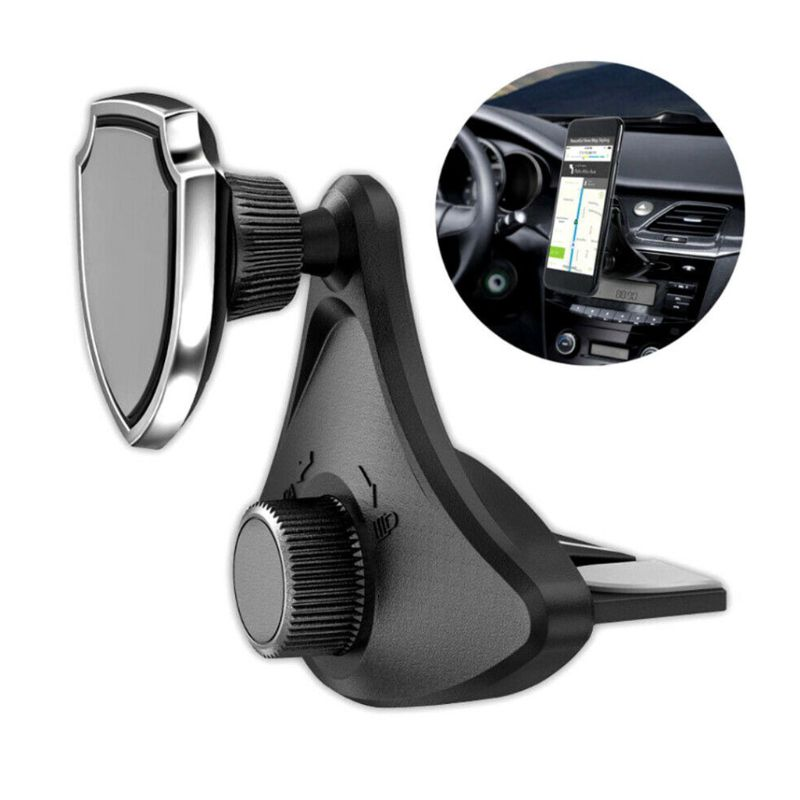 Car Mount Magnetic Holder Rotatable CD Slot Stand For Cell Phone Car Accessories in Universal Car Bracket from Automobiles Motorcycles