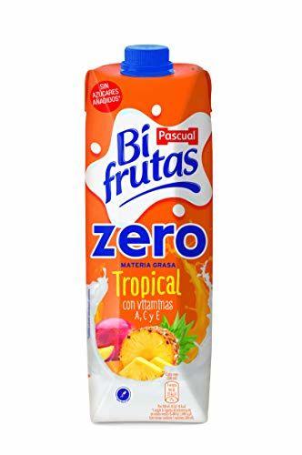 Bifrutas Zero Tropical Zumo Leche - 1000 Ml