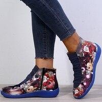 , Femmes bottes cheville Socofy cuir à lacets chaussons femmes grande taille croix sangle chaussures plates hiver 2019 bottes automne femmes chaussures courtes