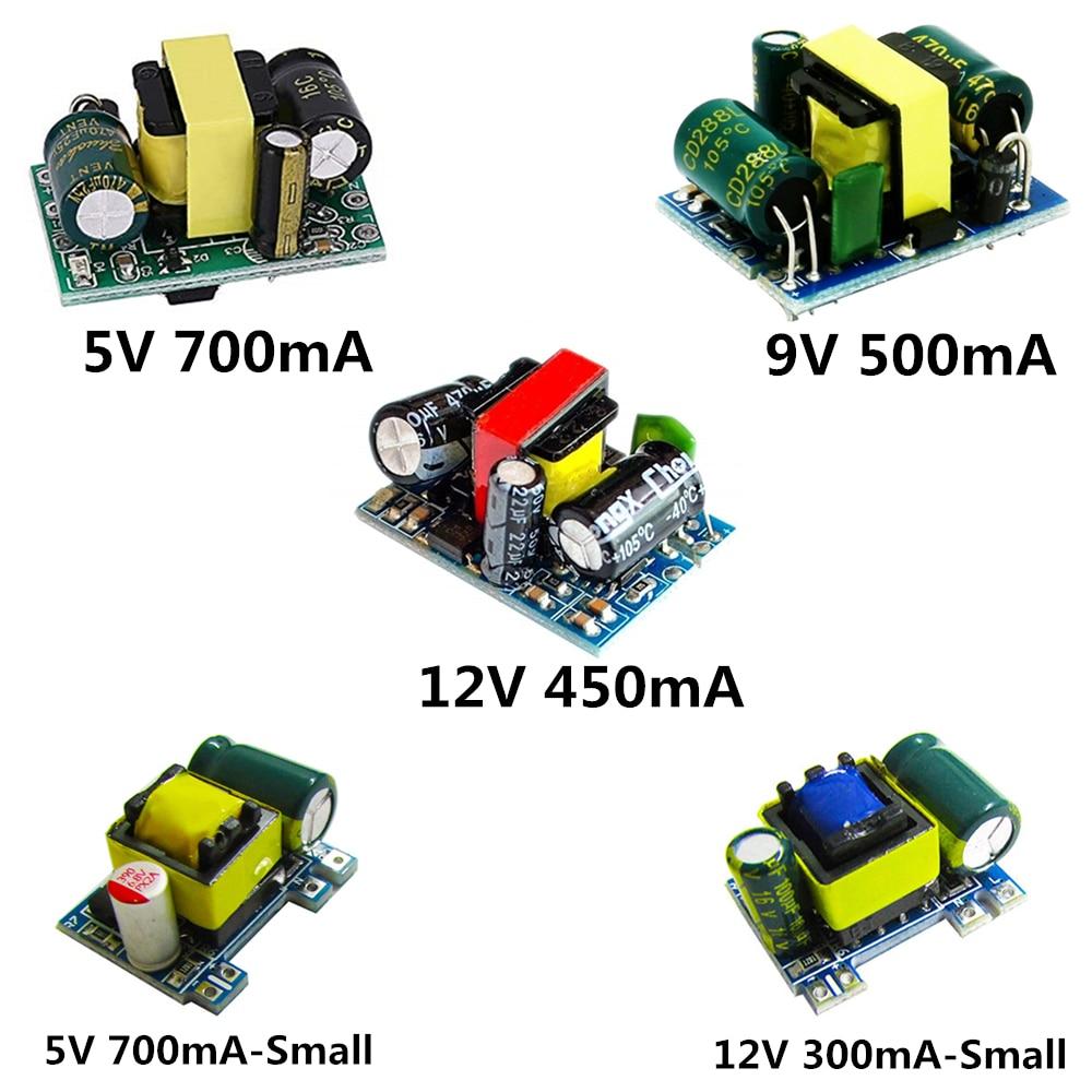 AC-DC 5V 700mA 12V 450mA 9V 500mA 3,5 Вт точность понижающий преобразователь переменного тока 220 В до 5 В DC понижающий Трансформатор источника питания модул...