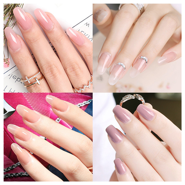 Phoenixy Poly UV Gel For Manicure 15ML Nail UV Gel For Extension Color Nail Gel For Nails Art Painting Gel Nail Art Enamel 5