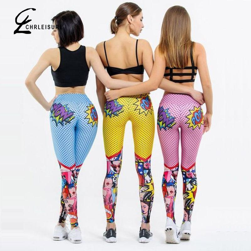 Women Leggings Workout Leggings High Waist Leggins Mujer Fitness Leggings Push Up Feminina Women's Digital Printing Pants