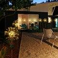 СВЕТОДИОДНЫЙ многоцветный светильник s 120  теплый белый светодиодный светильник на солнечной батарее  декоративный фейерверк в форме одува...