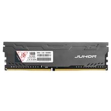 JUHOR Memory Ram Computer  DDR4 8GB 16GB 3000mhz Memoria 2400mhz 2666mhz Desktop Rams New Dimm with Heat Sink