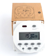BIG LCD Digital 220V AC 7 Days Programmable Timer Switch With UL Listed Relay Inside And Countdown Time Function